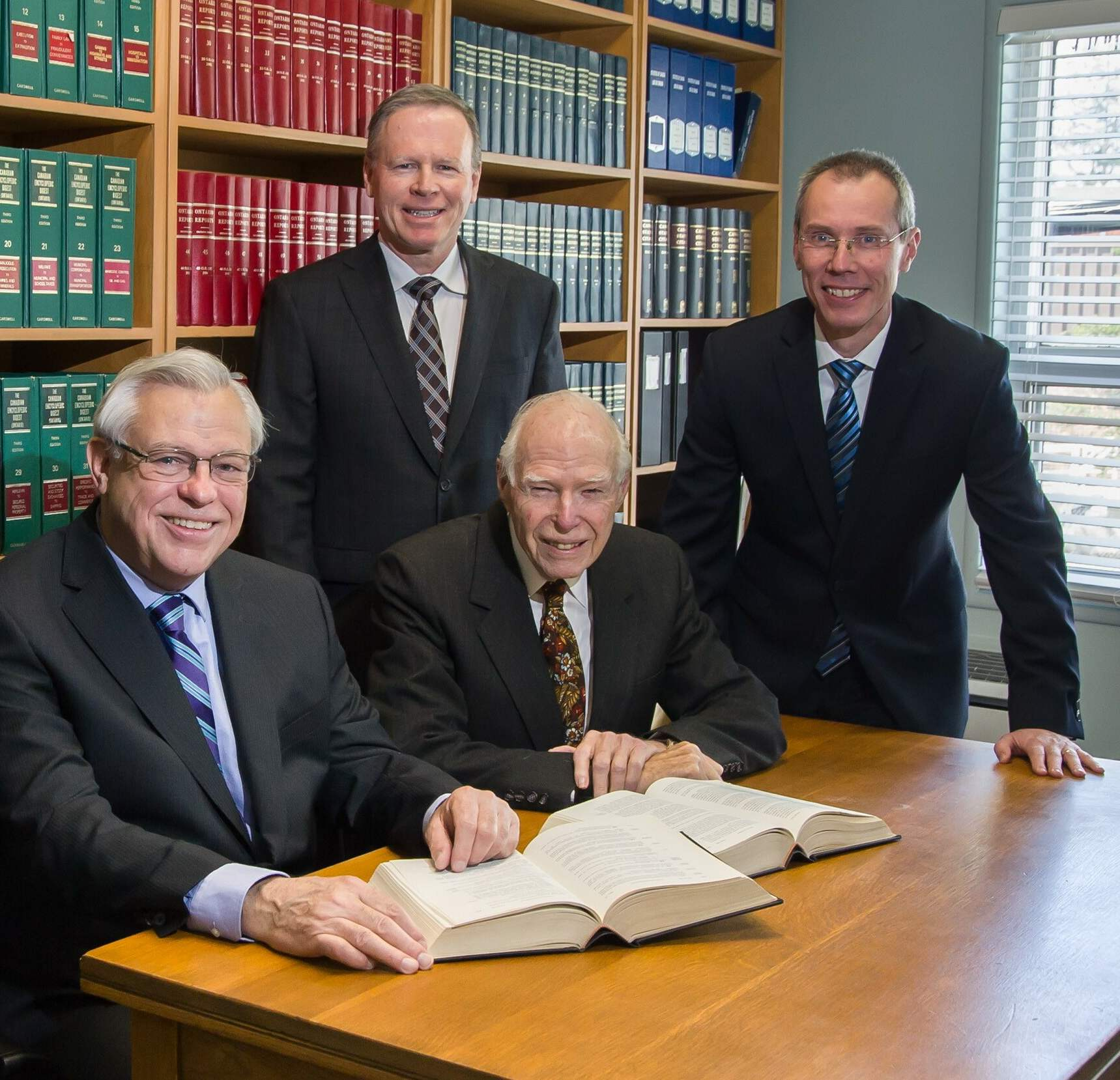 The lawyers at Fleury, Comery LLP